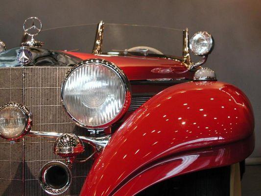 Ein Schmuckstück aus dem Mercedes-Benz-Museum in Stuttgart