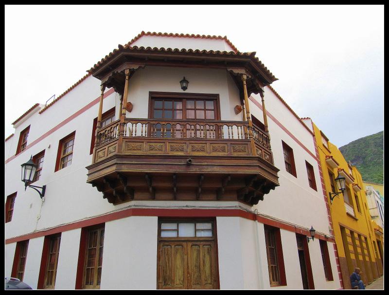 Ein schöner Balkon, gesehen auf Teneriffa in Garachico