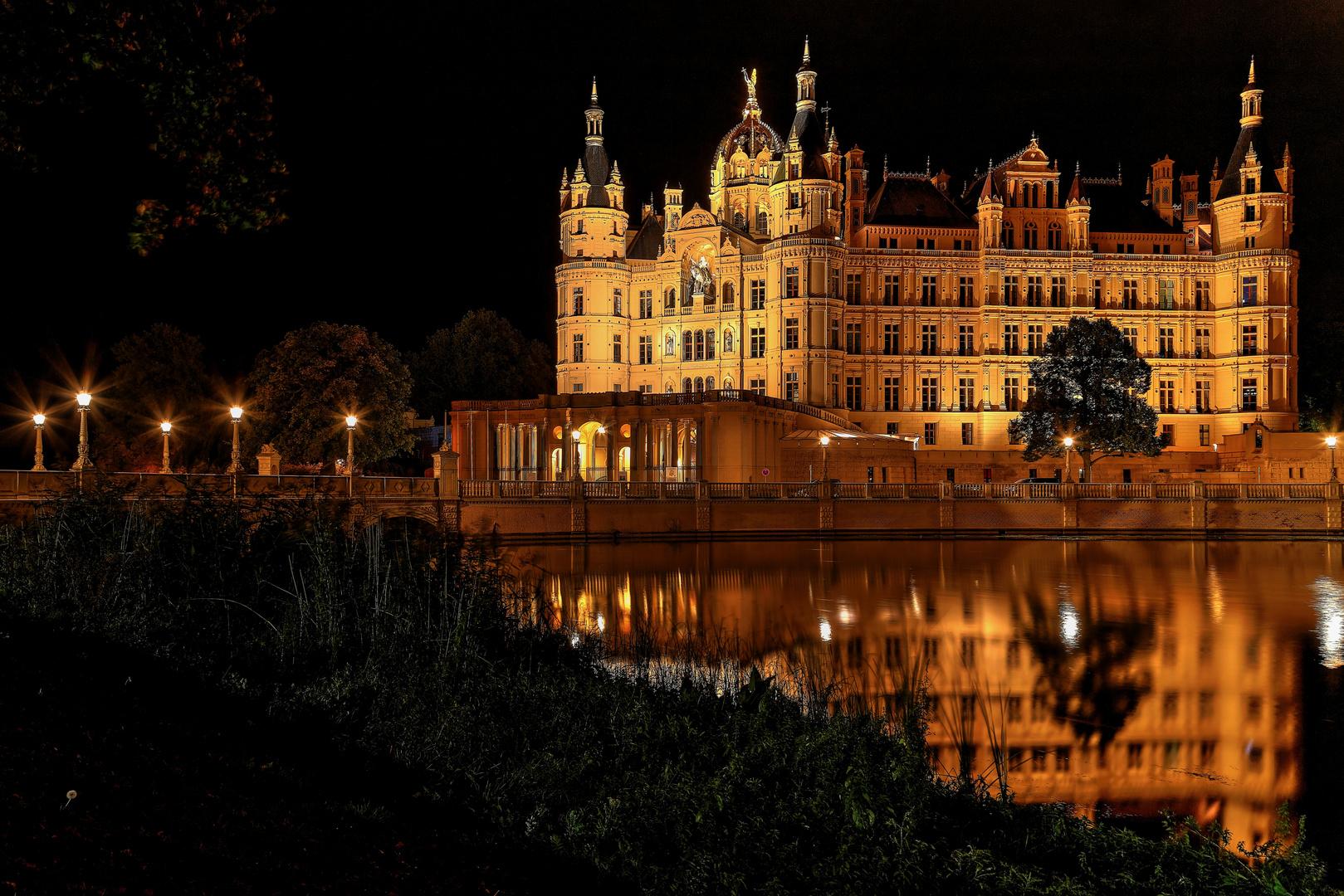 Ein schöner Herbstanfang in Schwerin..