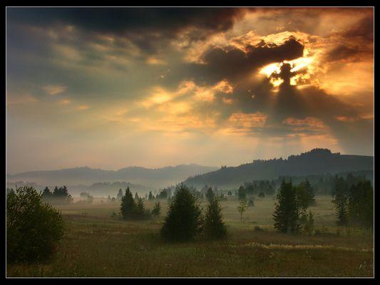 Ein schöner Herbstmorgen