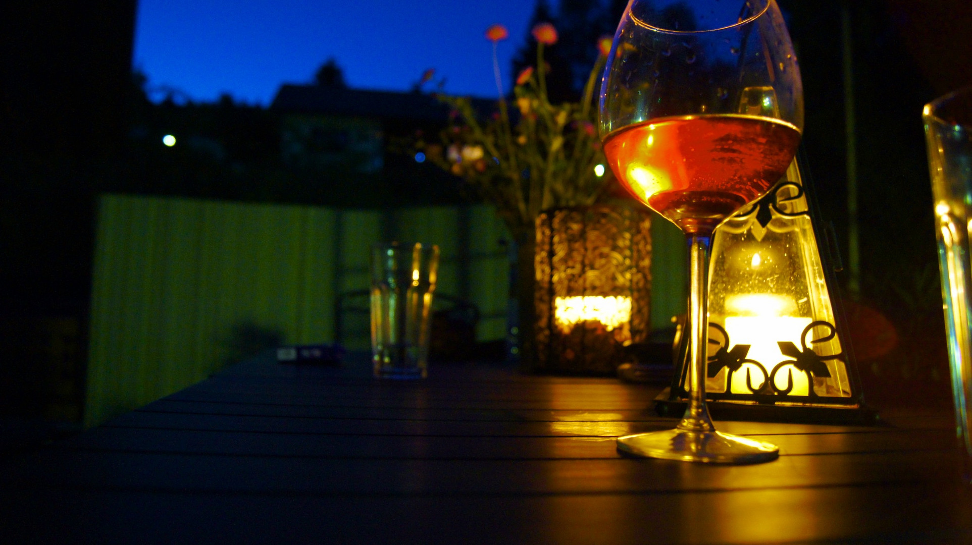 Ein schöner lauer Sommerabend