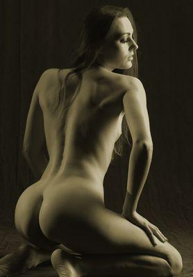 Ein schöner Rücken......., aber ein schöner Po.......!
