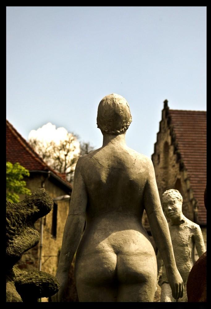 ein schöner Rücken kann auch........