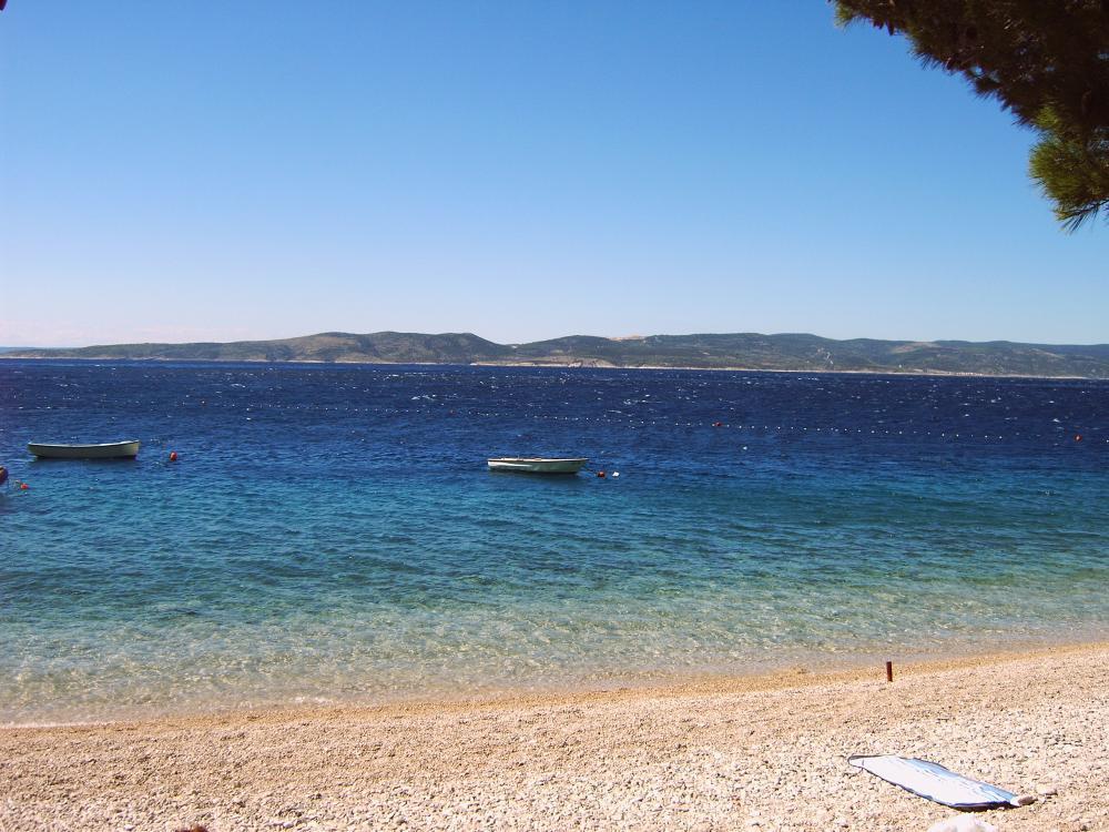 Ein schöner Strand in Kroatien