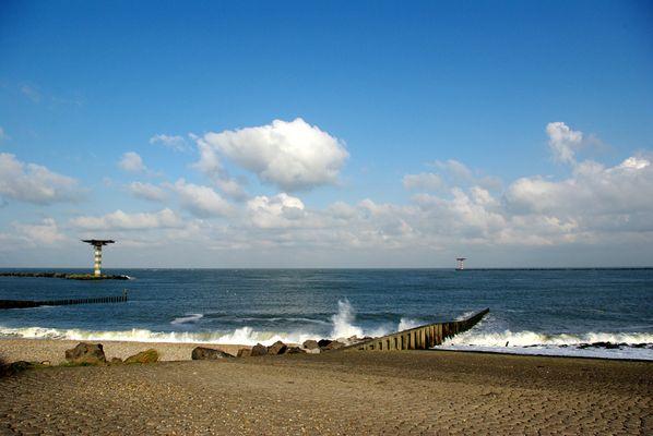 Ein schöner Tag am Meer