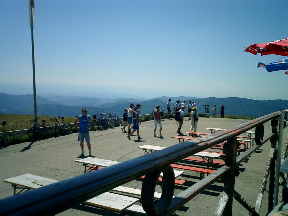 Ein schöner Tag Auf dem Bechen 1414 m hoch