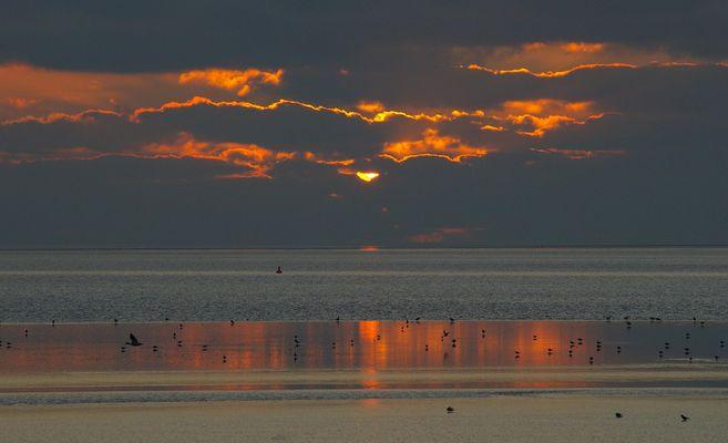 Ein schöner Tag geht zu Ende........Ostfriesland