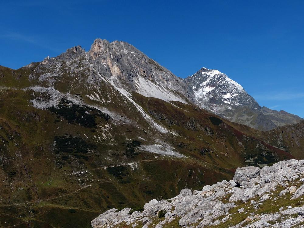 Ein schöner Tag in den Bergen