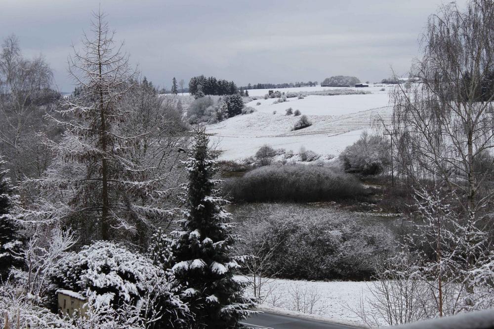 Ein schöner Wintertag bei uns..