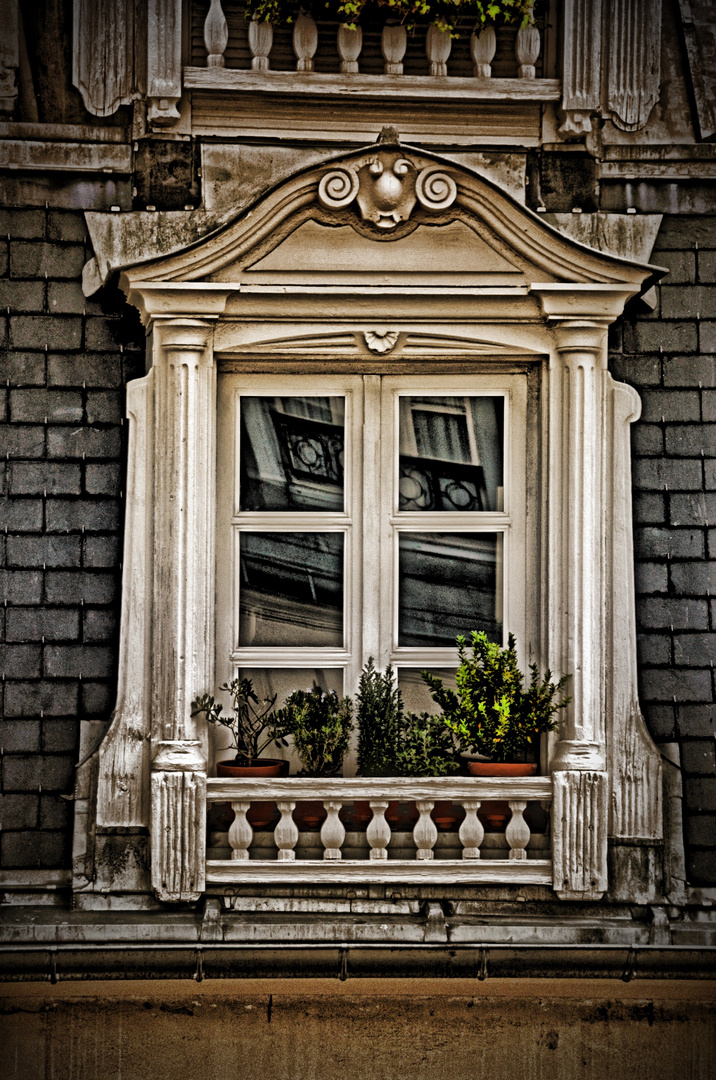 Ein schönes klassisches Fenster