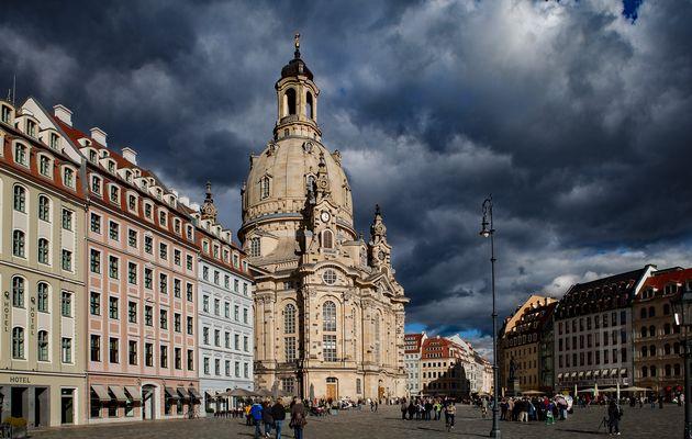 Ein schönes Stadtmotiv wird durch Wetter noch schöner.
