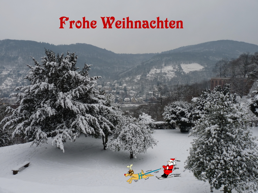 Ein schönes und friedvolles Weihnachtsfest