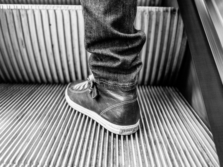 ein Schuh...