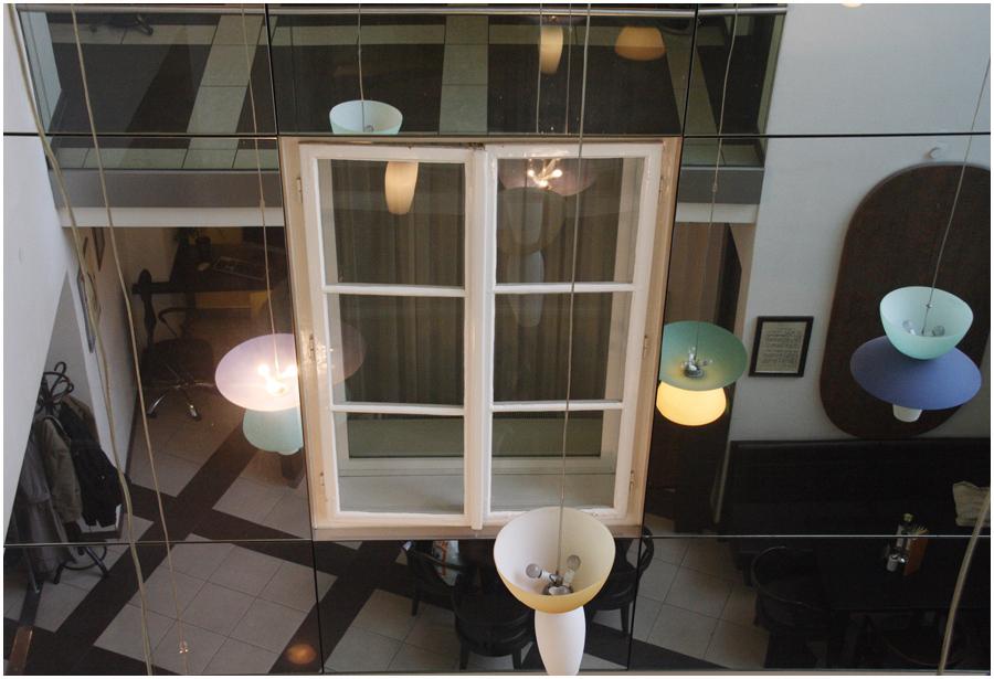 Ein schwebendes Fenster
