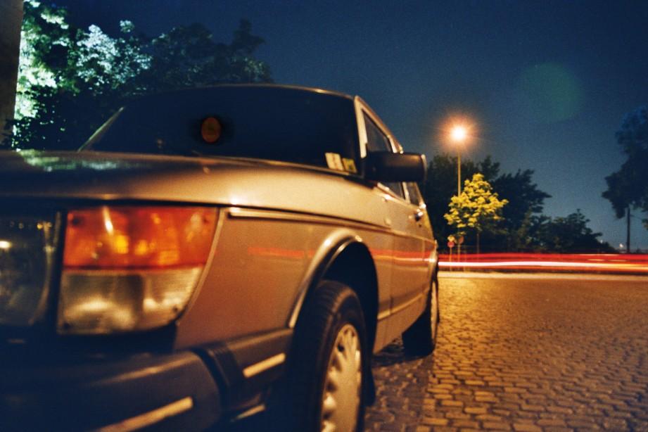 Ein Schwede in der Nacht