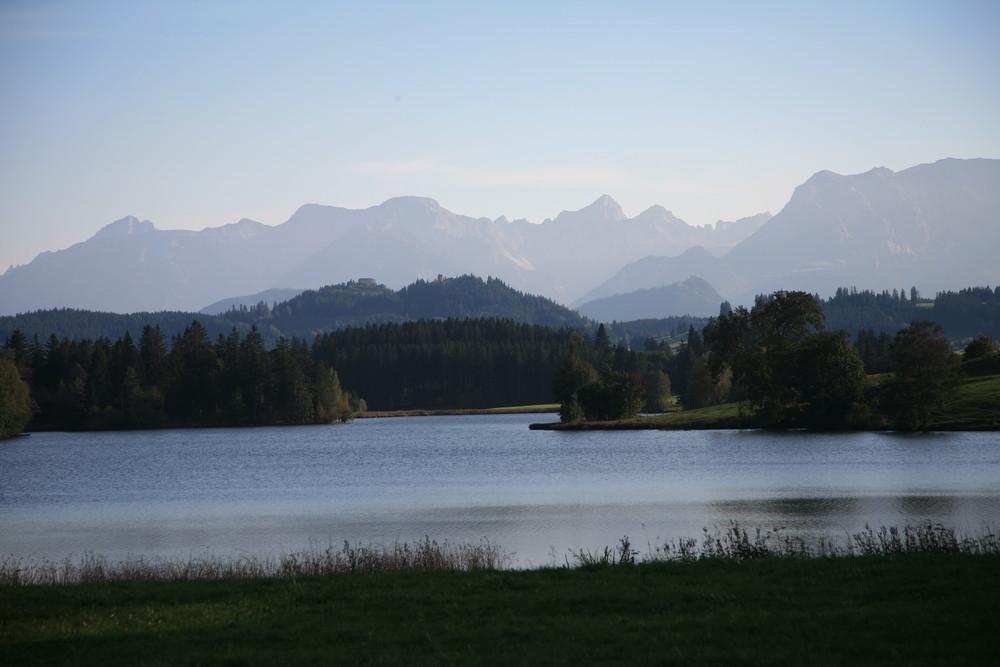 Ein See im Allgäu