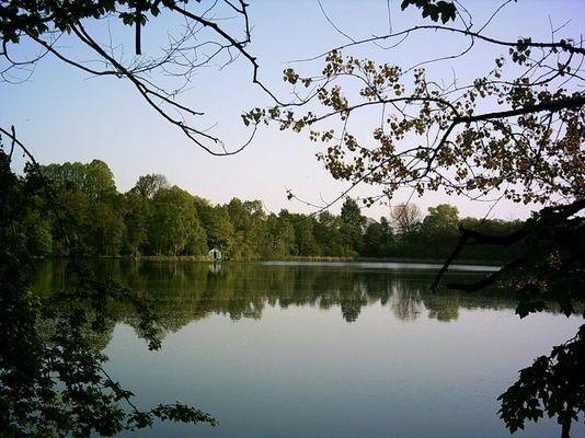Ein See in Kiel