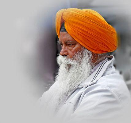 Ein Sikh-Gentleman !
