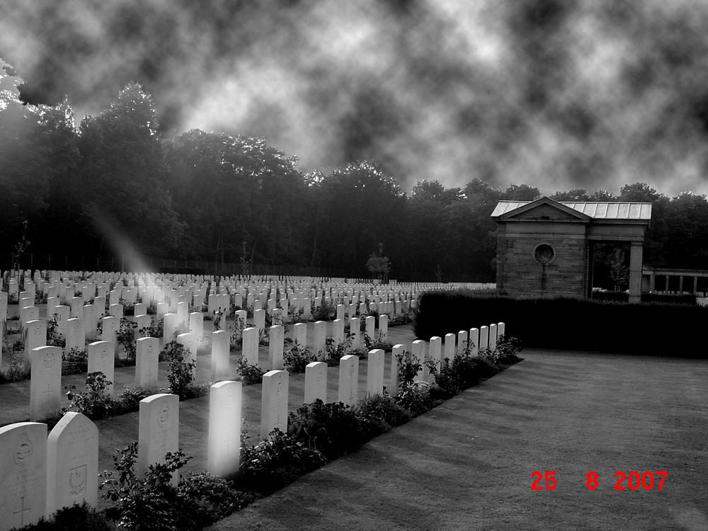 Ein Soldatenfriedhof