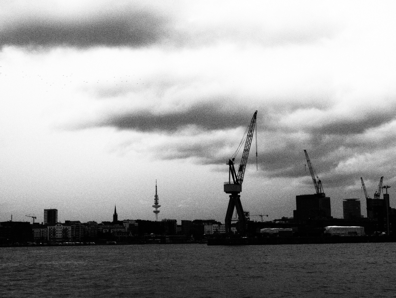 ein Sommertag an der Elbe