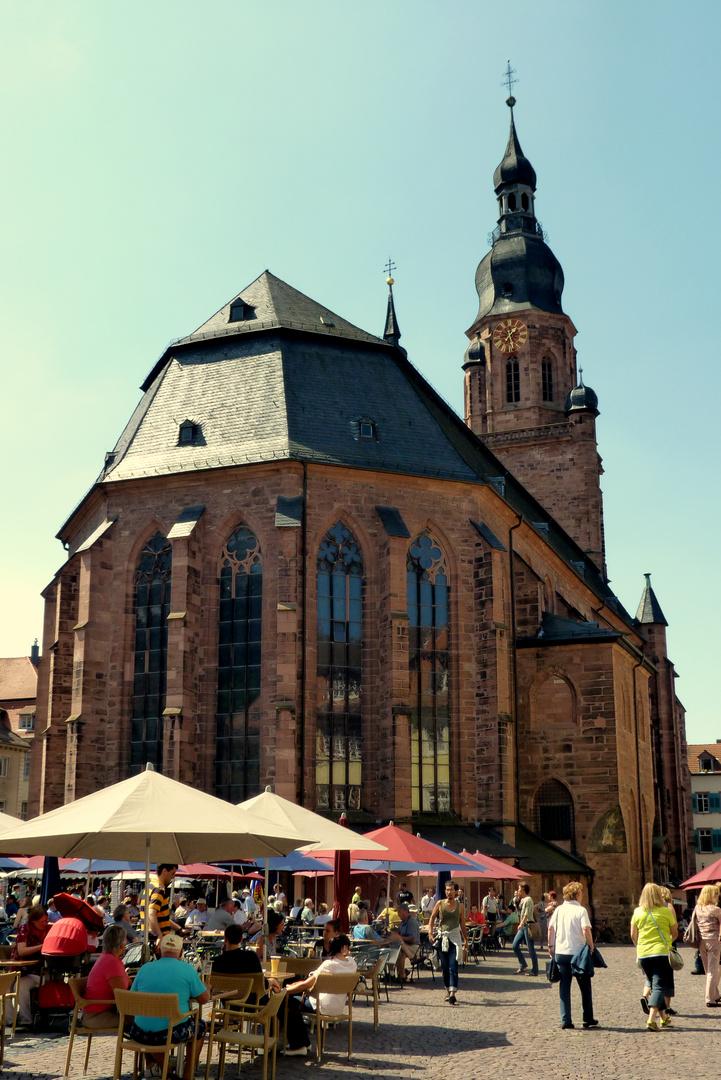 Ein Sommertag in Heidelberg
