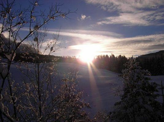 Ein Sonnenaufgang