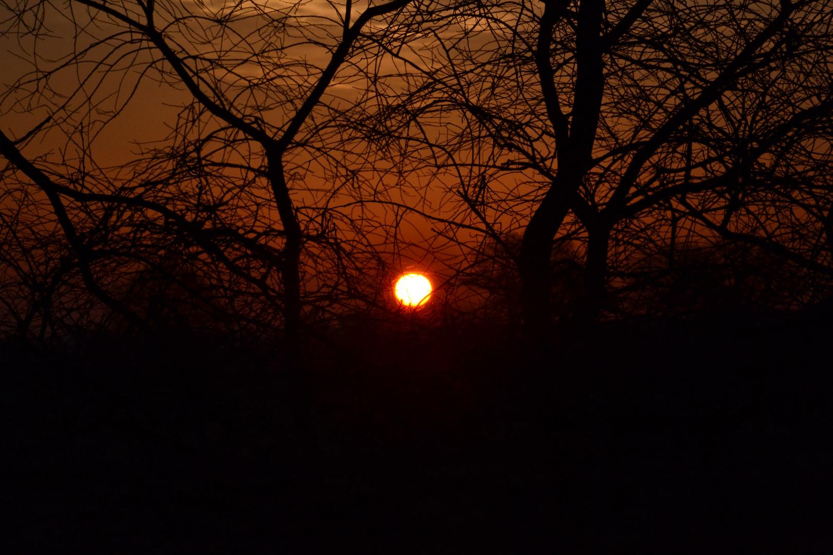 Ein Sonnenaufgang..