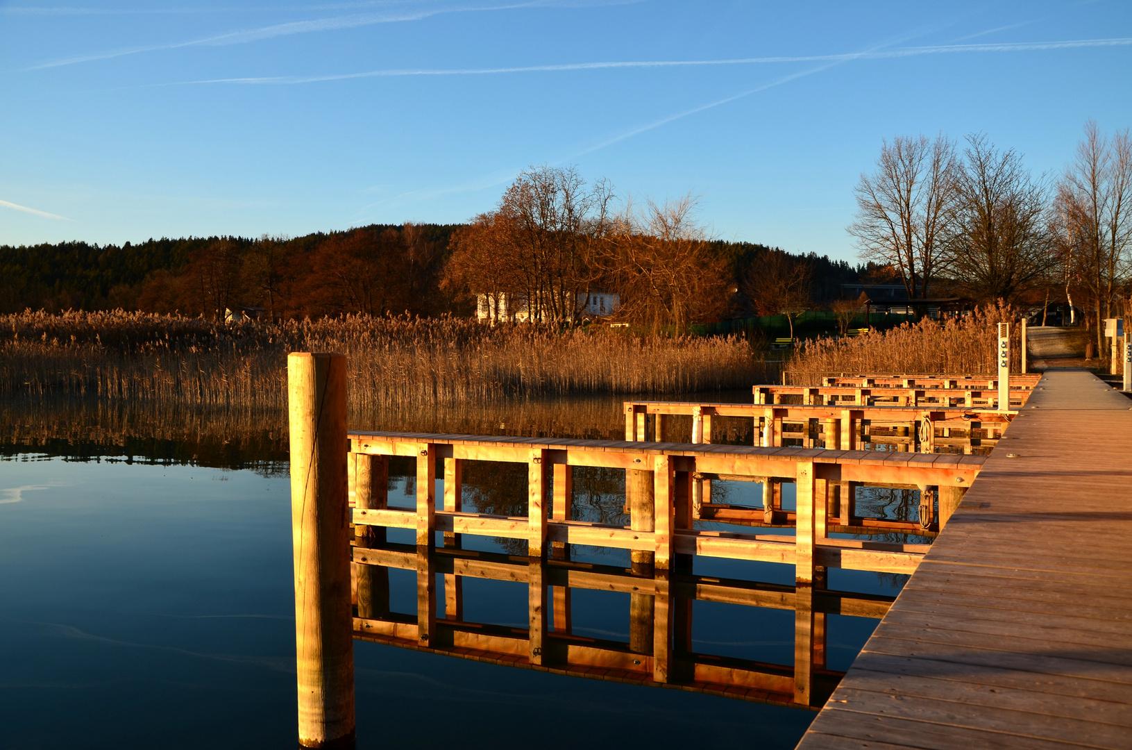 Ein Sonnentag am Wörthersee(11.1.2012)
