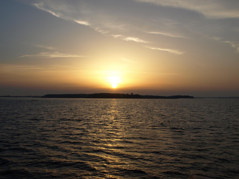 Ein Sonnenuntergang!