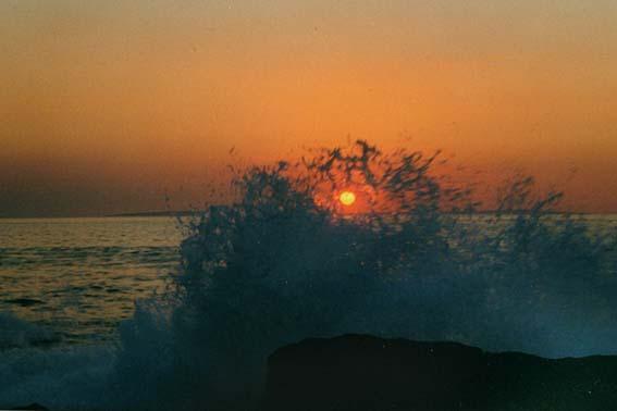 Ein Sonnenuntergang an der Irischen Küste