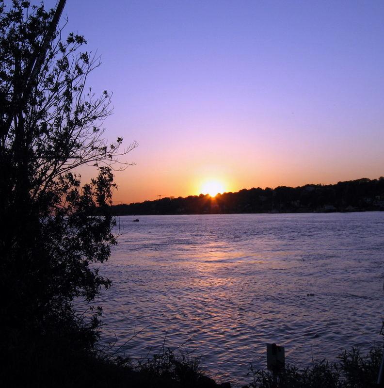 Ein Sonnenuntergang .......