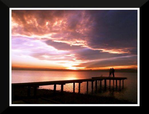 Ein Sonnenuntergang für zwei
