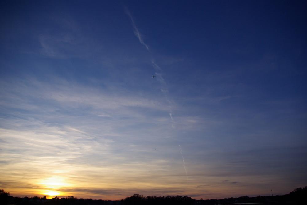 Ein Sonnenuntergang mal aus anderer Sicht