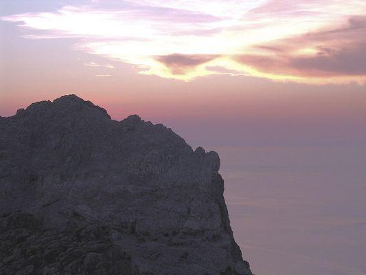 Ein Sonnenuntergang und seine Farben