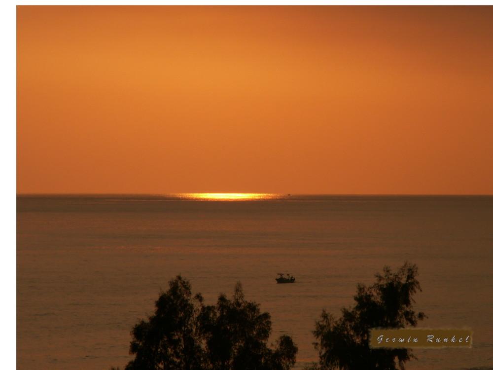 ein Sonnenuntergang wie im Traum