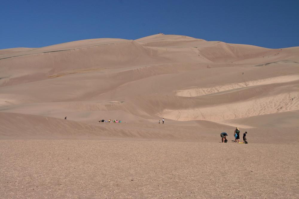 Ein Sonntag im Sand