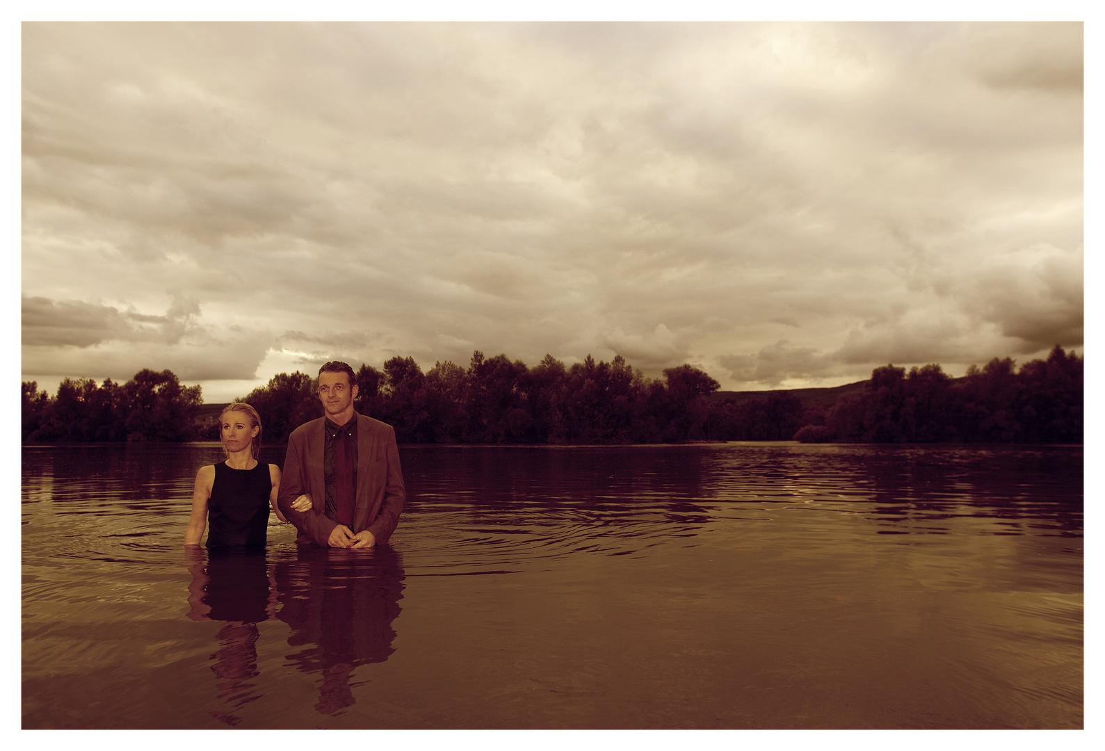 Ein Spaziergang im Rhein