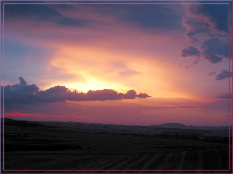 Ein spektakulärer Himmel...