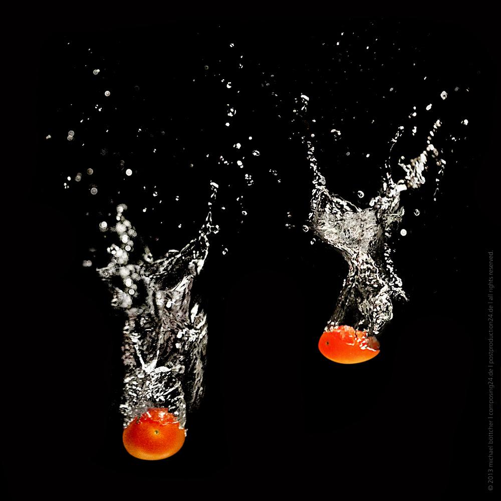Ein Sprung ins kalte Wasser - die Cherry-Tomate