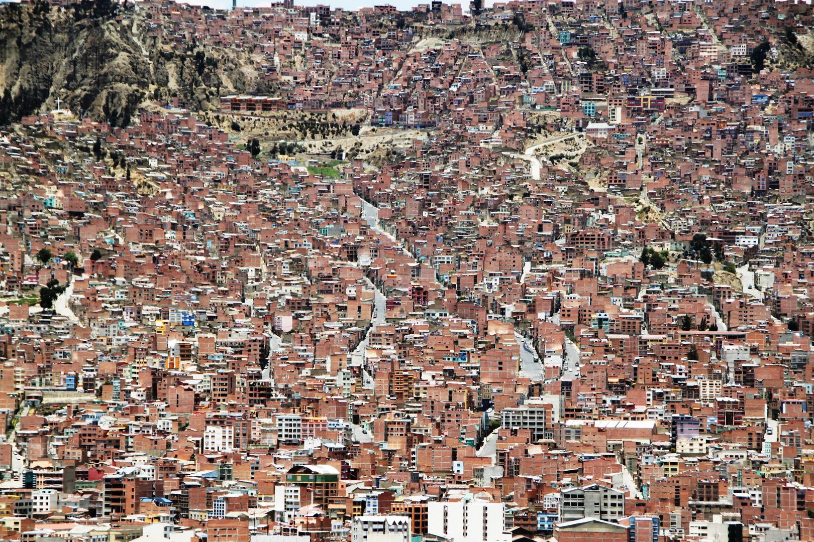 Ein Stadtteil von La Paz