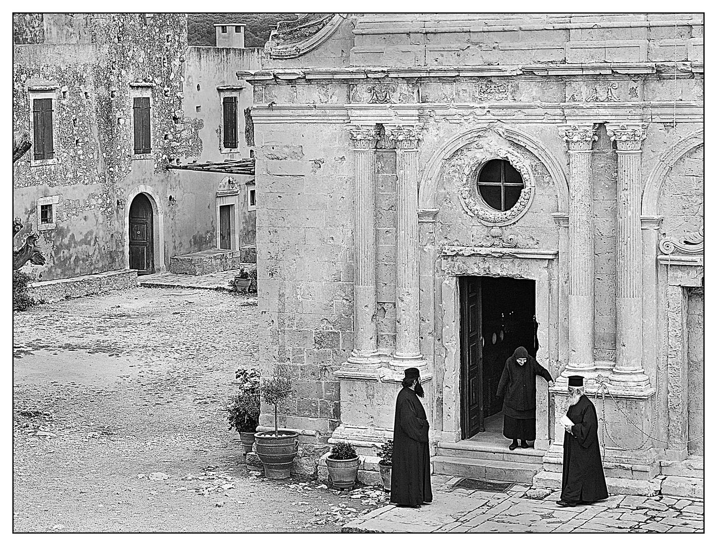 Ein stiller Ort auf Kreta