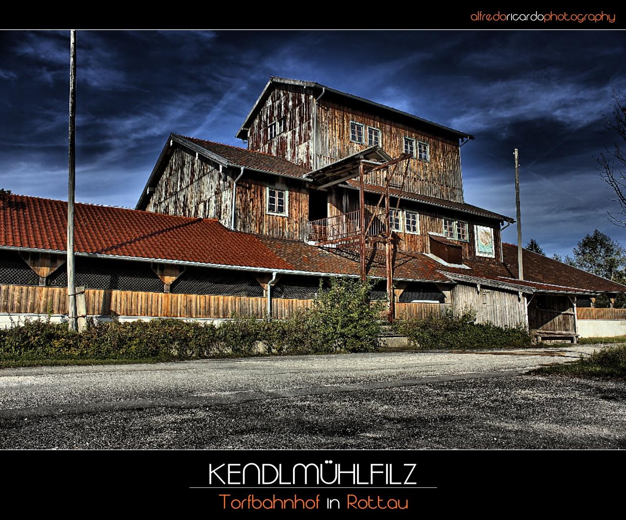 Ein stillgelegter Torfbahnhof