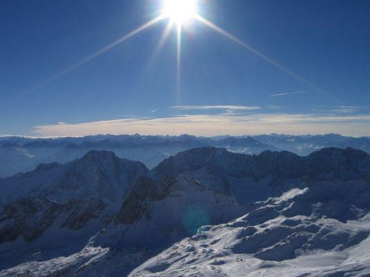Ein strahlender Gipfeltag