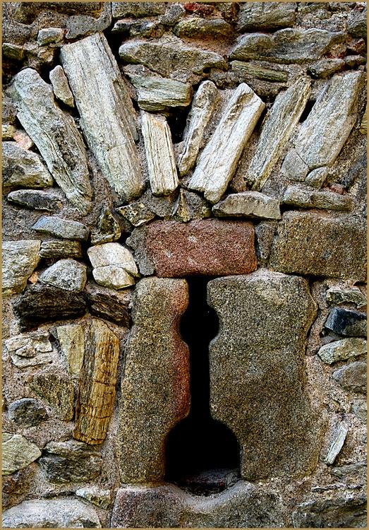 Ein Stück Burgmauer