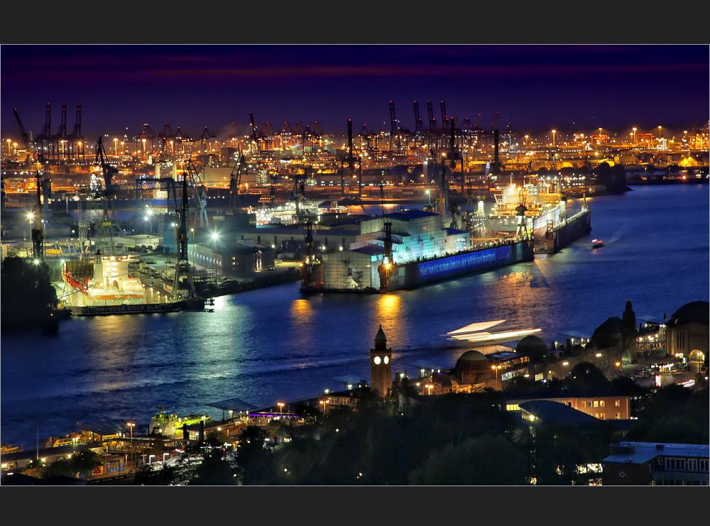 Ein Stück Hamburger Hafen