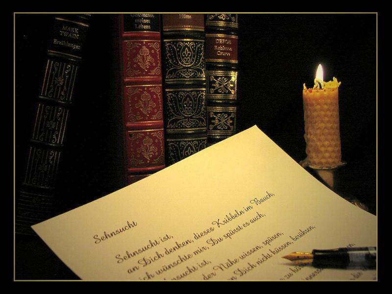 >> Ein Stück Poesie....