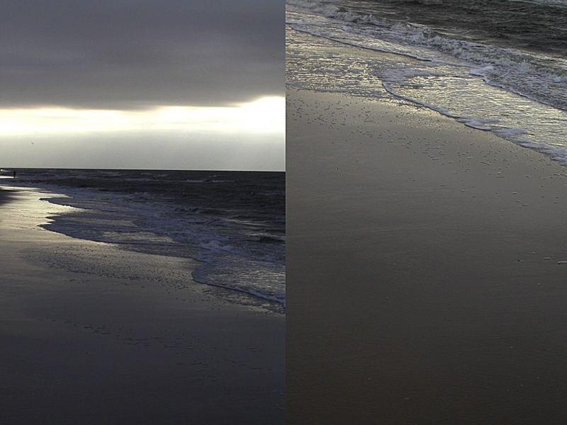 Ein stürmischer Spaziergang an der Nordsee