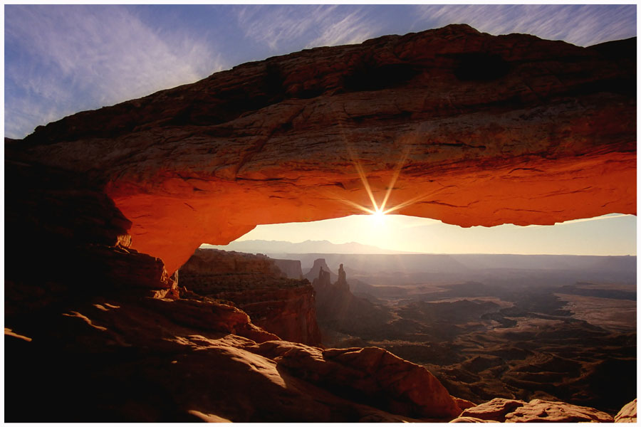 Ein Sunrise am Mesa Arch...
