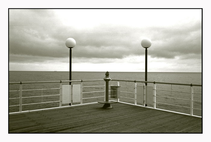 Ein Tag am Meer.