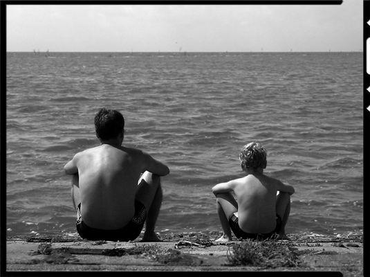 Ein Tag am Meer ...